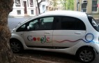 Quick Snap: Google Goes All-Electric In Mitsubishi 'i'