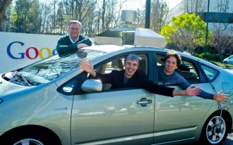 Google's autonomous car goes to Washington--and so do GM and Lyft