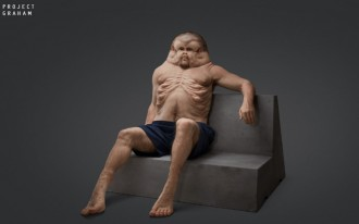 What a human evolved to withstand a car crash might look like