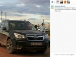 Green Car Reports on Instagram: 2014 Subaru Forester XT in South Africa