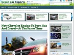 Green Car Reports redesign preview