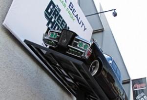 Green Hornet's Black Beauty at Petersen Automotive Museum