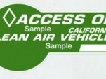 CA's Green HOV-Lane Access: Off To A Slow Start?