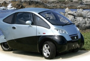 Triac Electric Car - Three Wheels, 100 Miles And $25,000