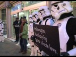 Greenpeace Stormtroopers protest against VW