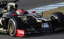 Grosjean in the Lotus/Renault - Courtesy Lotus F1 Team