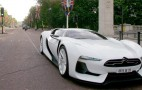 GTbyCitroen concept hits the streets of London