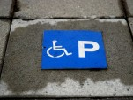 Handicapped parking sign (photo by Ane Cecilie Blicfheldt/norden.org)