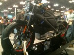 Harley-Davidson Livewire electric motorcycle concept at 2014 New York Internatoinal Motorcycle Show