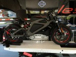 Harley-Davidson Livewire electric motorcycle concept, test ride event, July 2014 [photo: Ben Rich]