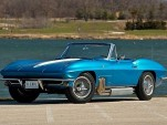 Harley J. Earl's custom 1963 Chevy Corvette. Images via Mecum Auctions.