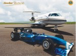 Hawker Beechcraft K4000 and Lotus Exos Type 125