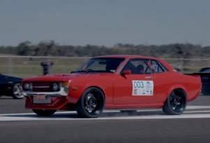 Heavily modified 1971 Toyota Celica makes 1,150 horsepower