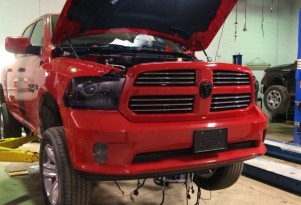 Hellcat-powered Ram 1500 - Image via Midland Chrysler