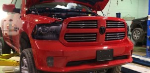 Hellcat-powered Ram 1500 - Image via Midland Chrysler