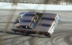Jay Leno crashes in the Hemi Under Glass