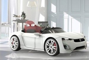 Broon F8: New Electric Supercar For Your Smaller Drivers