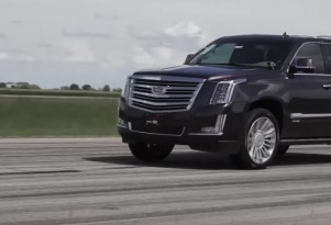 Hennessey builds an 842-horsepower Cadillac Escalade