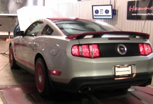 Hennessey HPE650 supercharged 2012 Mustang Boss 302