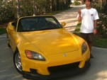 High school kid builds all-electric 700-hp Honda S2000. Photos by Juan Ehringer.