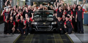 Holden celebrates building its final 2017 Chevrolet SS