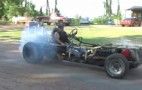 Redneck Super Kart Powered By 425ci Oldsmobile V-8: Video