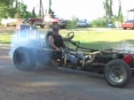 Home-built Oldsmobile-powered monster kart is pure insanity