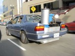 Honda Accord converted to run on garbage