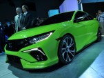Honda Civic Concept Live Shots, 2015 New York Auto Show