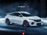 Potential 2016 Honda Civic Coupe Type R rendering - Image via CivicX