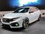 2017 Honda Civic hatchback unveiled in Geneva