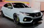 2017 Honda Civic Hatchback previewed by prototype: Live photos
