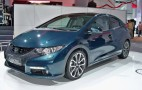 2011 Frankfurt Auto Show: 2013 Euro Honda Civic Is Complete Tease