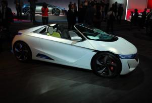 Honda EV-STER Concept Live Photos: 2012 Geneva Motor Show