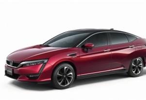 Honda FCV Sedan Teased Ahead Of 2015 Tokyo Motor Show