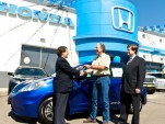 Honda Delivers First Privately-Leased 2013 Fit EV