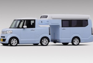 Honda N-Truck Kei Concept: World's Tiniest Travel Trailer, Too Cute For Words