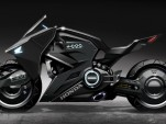 Honda NM4-based concept motorcycle from 'Ghost in the Shell'