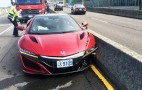 Man reportedly blames bee for NSX crash