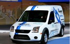 2010 Chicago Auto Show: 2011 Ford Transit Connect Electric, Taxi Live Photos