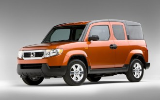 2009 Honda Element Gets Pricier