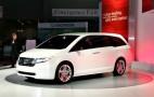 2010 Chicago Auto Show: Honda Odyssey Concept Live Photos