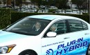 Honda launches Fit EV electric car and Accord plug-in hybrid test program in Torrance, CA, Dec 2010