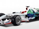 Honda's 2008 F1 effort, in 'Earthdreams' livery