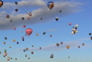 Cars are so yesterday: try boat, balloon sharing, Uber says