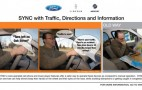 Ford SYNC Users: Free, Downloadable Updgrade Now Available That Provides Traffic And Directions