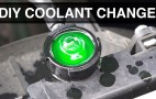How to change a car's coolant