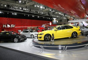 HSV stand at the 2010 Australian Motor Show