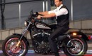 Hugh Jackman and Harley Davidson