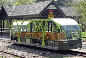Next clean-energy transport: a solar-powered electric railcar?